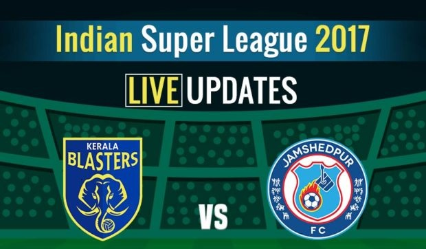jamshedpur vs kerala blasters live streaming isl match 17. Black Bedroom Furniture Sets. Home Design Ideas