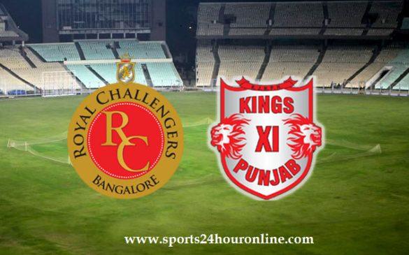 RCB vs KXIP Live Stream on Hotstar TV Channels IPL Match 8