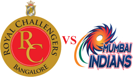 MI vs RCB Live Streaming 14th Match - Mumbai Indians vs Royal Challengers Bangalore