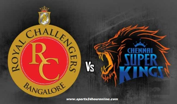 CSK vs RCB Live Streaming 35th Match of Indian Premier League 2018