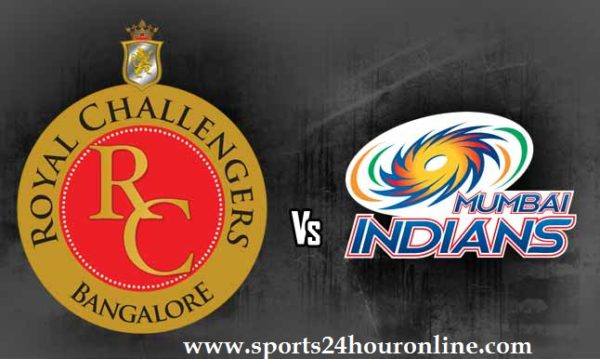 RCB vs MI Live Streaming IPL Today 31st Match