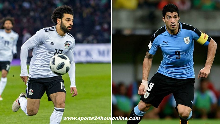 Egypt vs Uruguay Live Stream Football Match, TV Channels of Fifa World Cup 2018