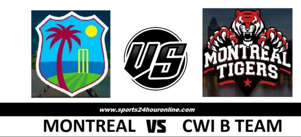 MNT vs CWIB Live Stream Fourth Match of Global T20 Canada 2018 - Montreal Tigers vs CWI B Team