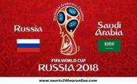 Russia vs Saudi Arabia Live Streaming Fifa World Cup 2018 Football Match