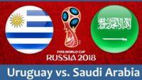 Uruguay vs Saudi Arabia Live Streaming Today FIFA World Cup, TV Channels, Squads