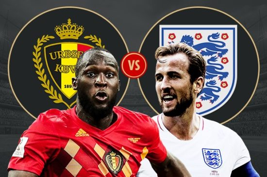 Belgium vs Engand Live Streaming Third Place of FIFA World Cup 2018