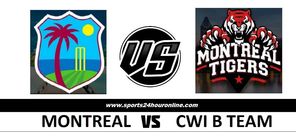 CWIB vs MNT Live Broadcast Match 16th - Global T20 Canada 2018