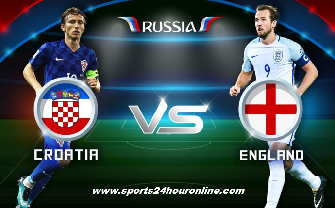 Croatia vs England Live Streaming Semi Final FIFA World Cup 2018