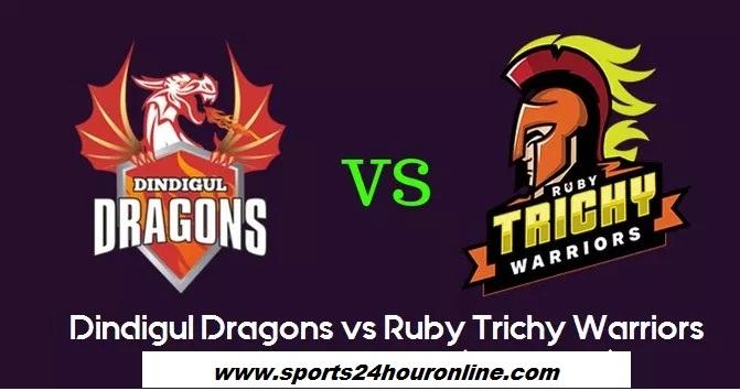 DDD vs RTW First Match of Tamil Nadu Premier League 2018 – Dindigul Dragons vs Ruby Trichy Warriors