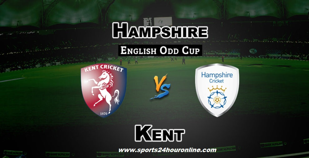 KENT vs Ham Live Streaming South Group T20 Blast 2018