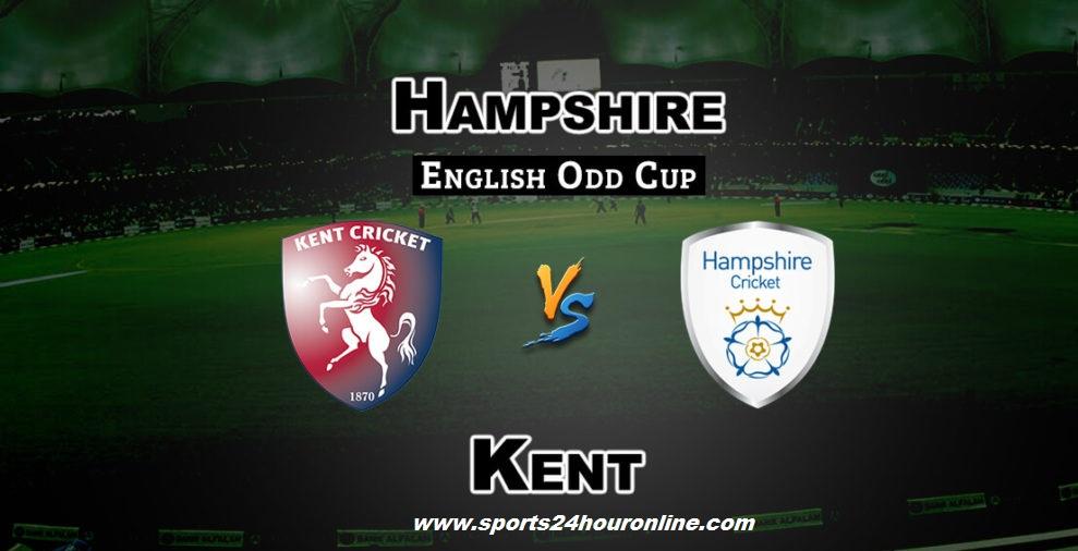 KENT vs Ham Live Streaming South Group T20 Blast 2018