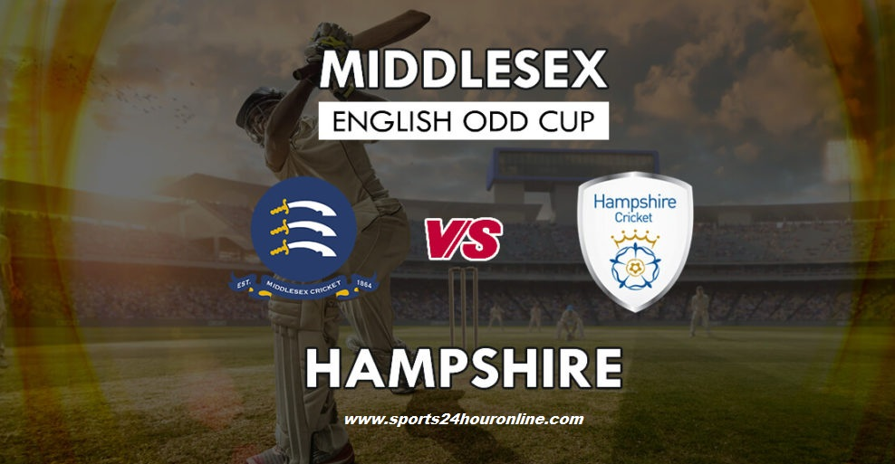 MDX vs Ham Live Streaming South Group T20 Blast 2018