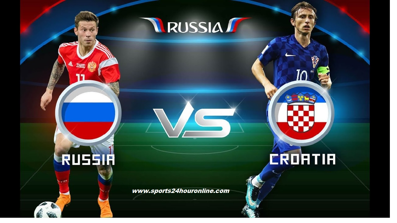 Russia vs Croatia Live Telecast Today Quarter Final of Fifa Football World Cup 2018