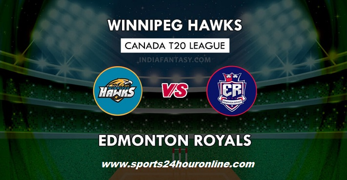 WPH vs EDR Live Streaming Eliminator - Global T20 Canada 2018
