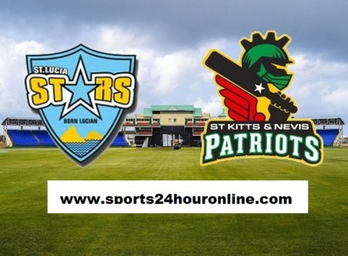 SNP vs STS Live Streaming 21st Match - St Kitts and Nevis Patriots vs St Lucia Stars