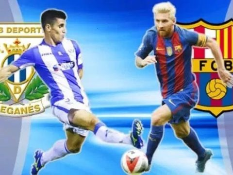 Leganes vs Barcelona Live Streaming Football Match Today of La Liga