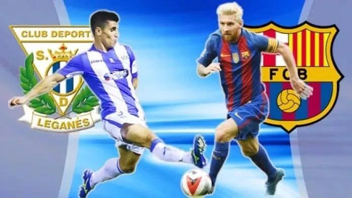 Leganes vs Barcelona Live Streaming Football Match Today of La Liga