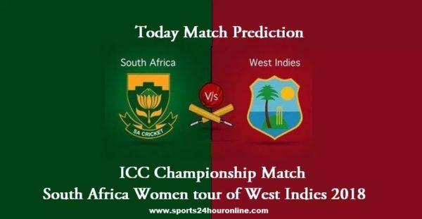 WIW vs RSAW Live Streaming 3rd ODI ICC Championship match