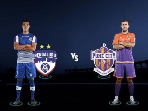 Bengaluru FC vs Pune City Live Stream Indian Super League 2018