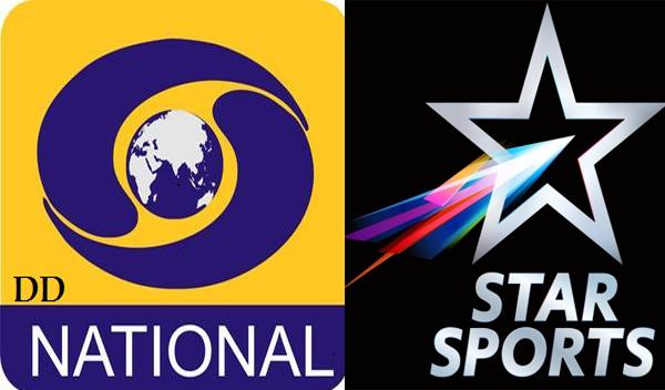 India vs West Indies 4th ODI Live Broadcast on DD Sports, Star Sports