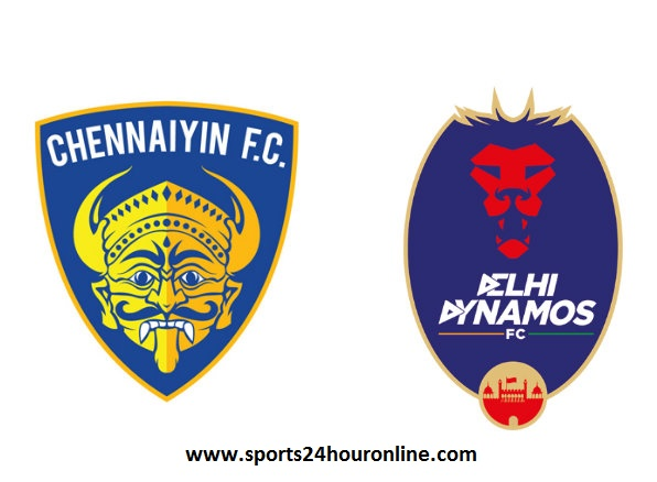 Delhi Dynamos vs Chennaiyin FC Live Streaming ISL Football Match Today