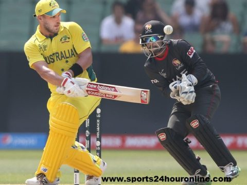 UAE vs AUS Live Streaming Only T20I 2018 - United Arab Emirates v Australia