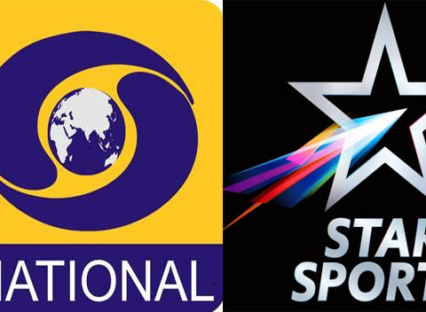 DD Sports Star Sports India vs West Indies 2nd T20I Live Coverage