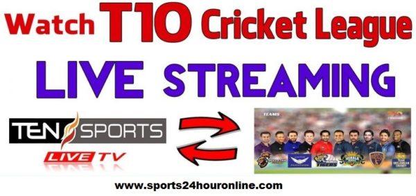 Kerala Knights vs Pakhtoons Live Streaming T10 League 2018 Today