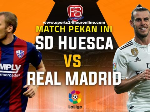 Huesca vs Real Madrid live stream la liga football match today