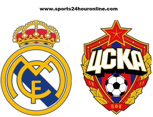 Real Madrid vs CSKA Moskva live streaming football match preview