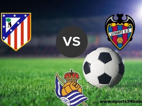 Atletico madrid vs levante Live Streaming Football match of La Liga 2019 tournament.