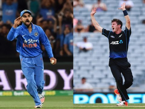 India vs New Zealand 1st ODI Live Cricket Match