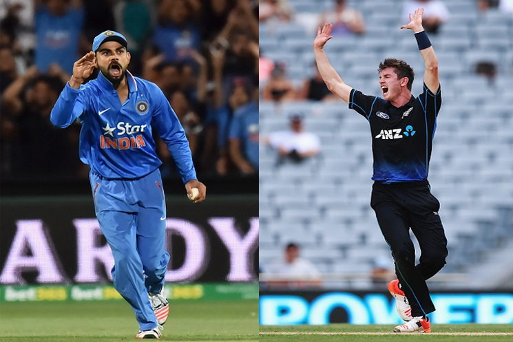 India vs New Zealand 1st ODI Live Cricket Match