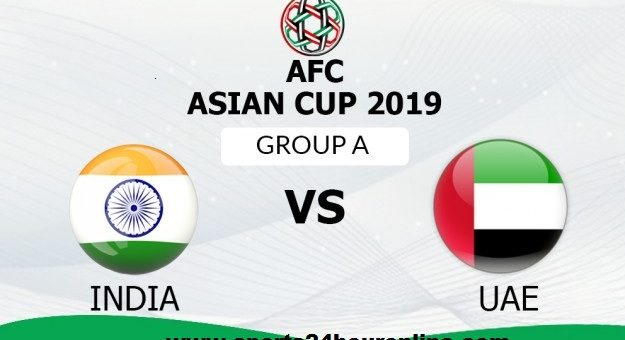 India vs UAE Live Streaming AFC Asian Cup 2019 Football, TV Channels, Schedule, Venue, Squads
