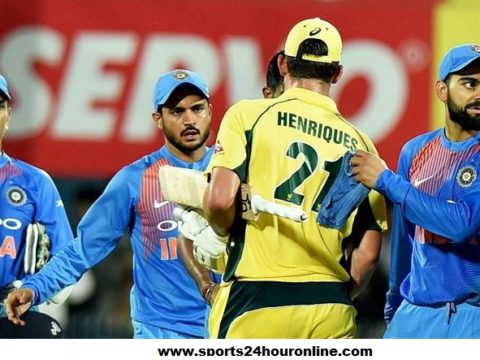 IND vs AUS Second T20 - Australia v India Today Live Score