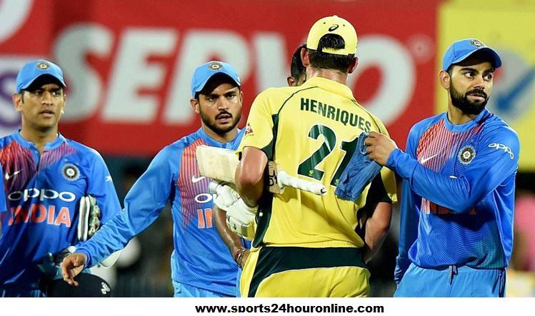 IND vs AUS Second T20 - Australia v India Today Live Score