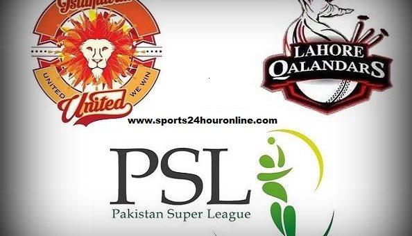 ISU vs LHQ First Match of Pakistan Super League 2019. Islamabad United vs Lahore Qalandars 1st match live broadcast on PTV sports, Hotstar, fox sports tv