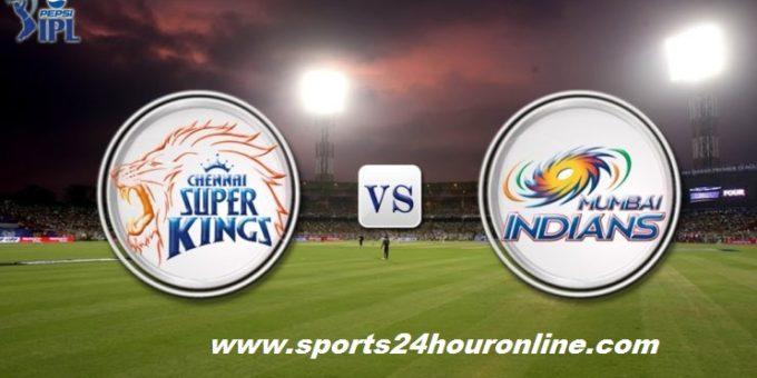 MI vs CSK Qualifier 1 Indian Premier League 2019