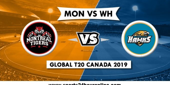 Montreal Tigers vs Winnipeg Hawks - MNT vs WPH Live Stream Global T20