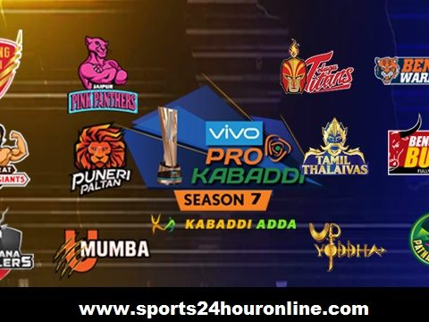 PKL 2019 Live Broadcast TV Channels Team Squads