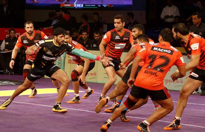 Telugu Titans vs U Mumba Pro Kabaddi League 2019