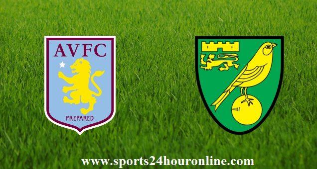 Aston Villa vs Norwich City live stream Football match Premier League