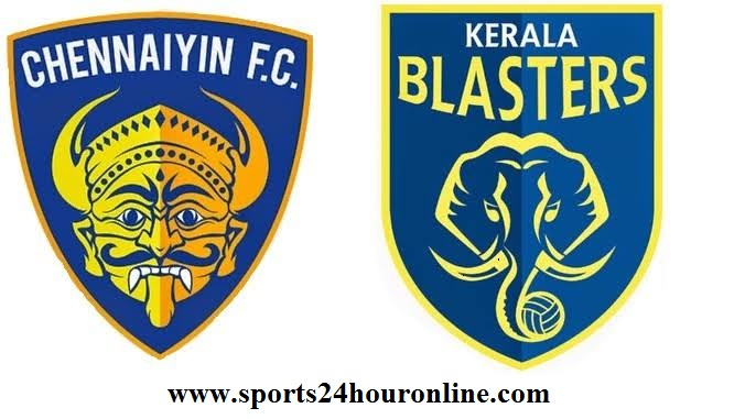 Chennaiyin vs Kerala Blasters live stream football match preview ISL