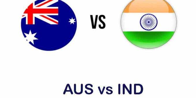IND vs AUS Live Cricket Match Today 1st ODI