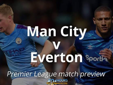 Manchester City vs Everton Live stream football match preview