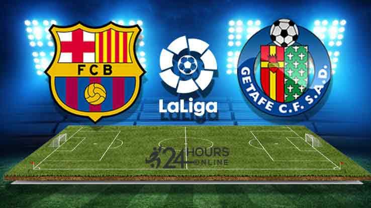 Barcelona vs Getafe Live Streaming Today Football Match La Liga 2019-20