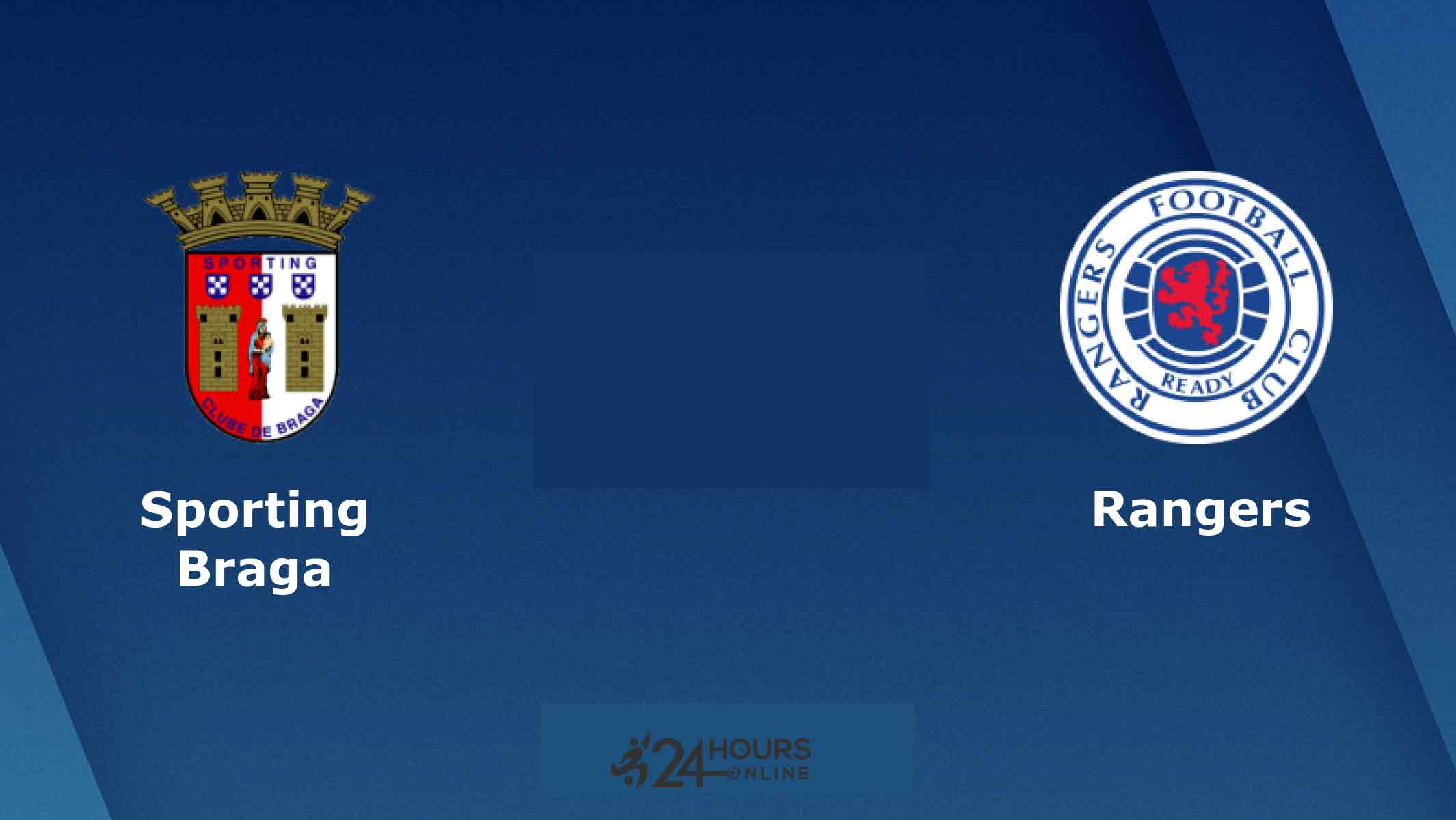 Sporting Braga vs Rangers Live Streaming Football Match Preview Today