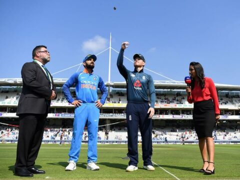 India vs England First T20 Match - England Tour of India 2021