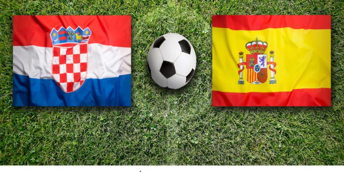 Spain vs Croatia Live Score Football Match Preview