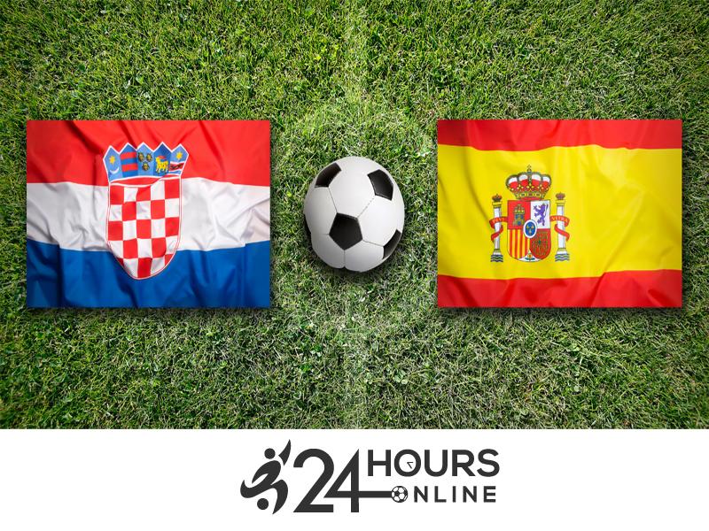 Spain vs Croatia Live Score UEFA Football Match 2020 Free